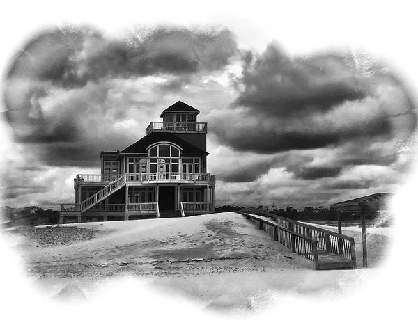 House At The End Of The Road Art Print