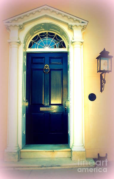 Photograph - House Door 1 In Charleston Sc  by Susanne Van Hulst