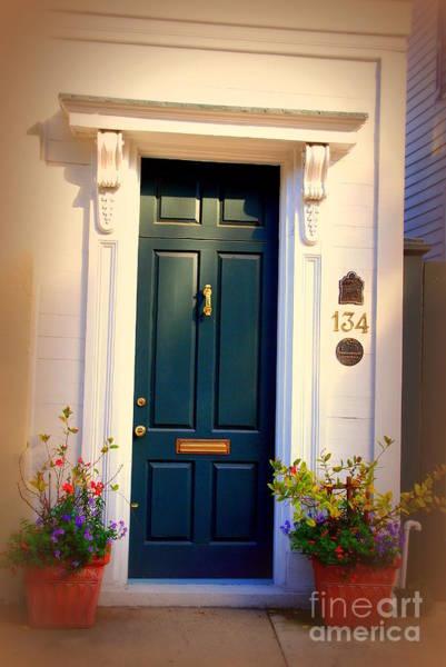 Photograph - House Door 2 In Charleston Sc  by Susanne Van Hulst