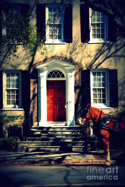 Photograph - House Door 3 In Charleston Sc  by Susanne Van Hulst
