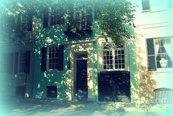 Photograph - House Door 9 In Charleston Sc  by Susanne Van Hulst