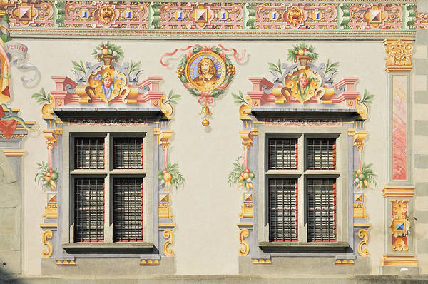 Photograph - House Facade Lindau Germany by Matthias Hauser