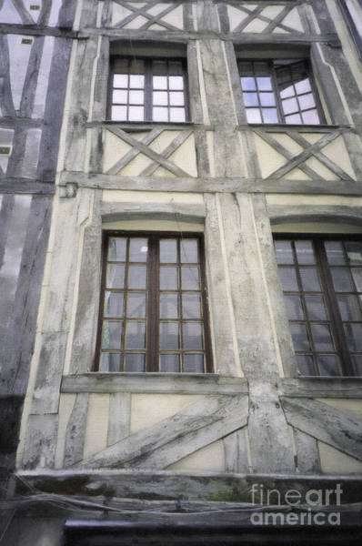 Digital Art - House In Rouen France by Donna L Munro