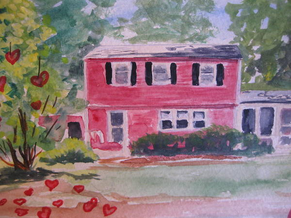 Painting - House Of Love by Stella Sherman