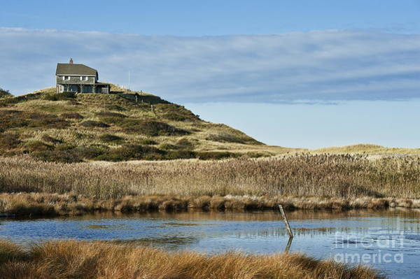 Oceanfront Photograph - House On A Hill by John Greim
