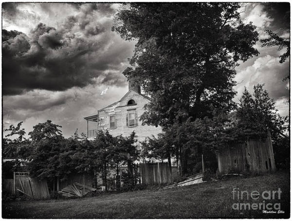 Houses Wall Art - Photograph - House On Haunted Hill by Madeline Ellis