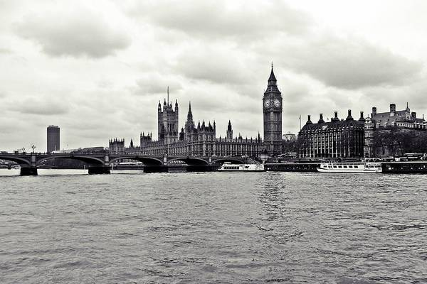 Wall Art - Photograph - Houses Of Parliament by Sharon Lisa Clarke