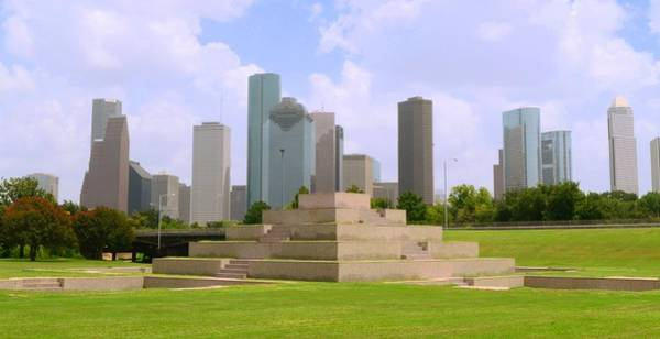 Photograph - Houston Police Department Memorial by David Morefield