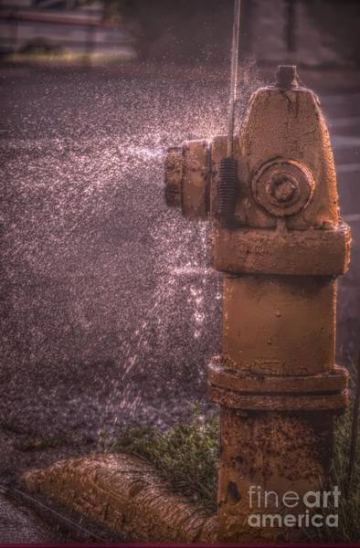 Water Hydrant Photograph - Houston... We Have A Leak by The Stone Age