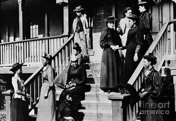 Photograph - Howard University, 1893 by Granger
