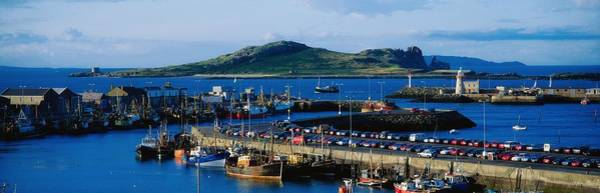 County Dublin Photograph - Howth Harbour & Irelands Eye, Co by The Irish Image Collection