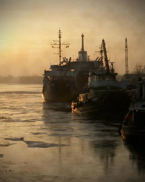 Photograph - Huddled Boats by Tim Nyberg