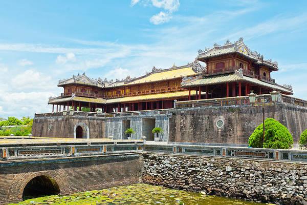 Wall Art - Photograph - Hue Citadel by MotHaiBaPhoto Prints