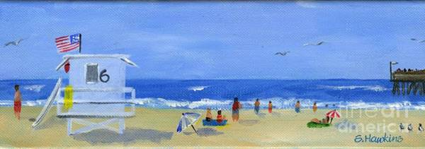 Wall Art - Painting - Hueneme Beach  by Sheryl Heatherly Hawkins