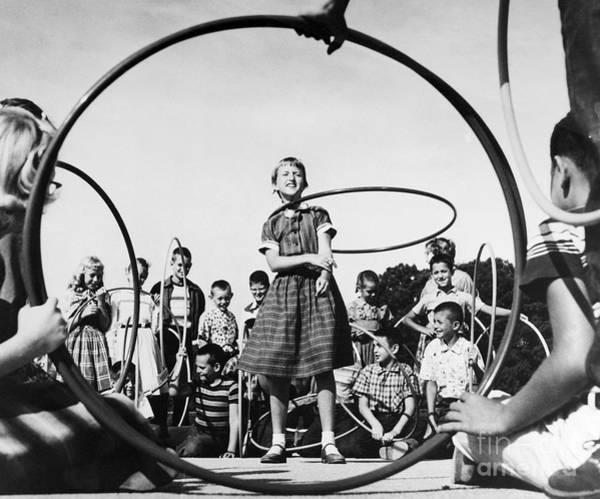 Photograph - Hula Hoop, C1950s by Granger