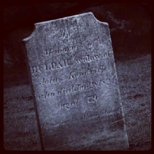 Run Photograph - Huldah, Widow Of John Kendrick by Hit And Run History