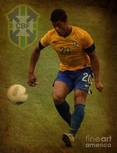 2010 Fifa World Cup Wall Art - Photograph - Hulk Givanildo Vieira De Souza IIi by Lee Dos Santos