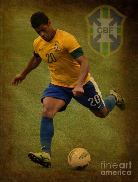 2010 Fifa World Cup Wall Art - Photograph - Hulk Givanildo Vieira De Souza V by Lee Dos Santos