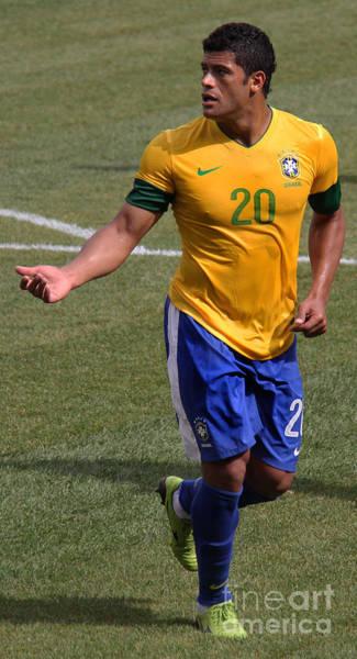 Super Cup Wall Art - Photograph - Hulk Give Me The Ball by Lee Dos Santos