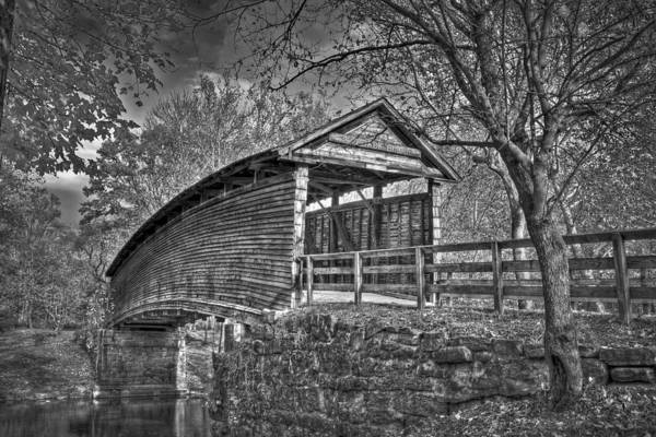 Photograph - Humpback Bridge Bw by Williams-Cairns Photography LLC
