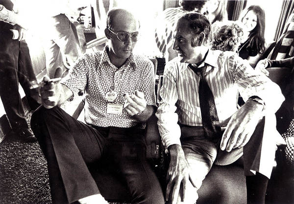 Journalism Wall Art - Photograph - Hunter S. Thompson And George Mcgovern by Everett
