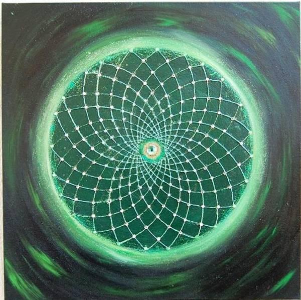 Acrilic Painting - Hunting Dreams by Carla Marcelo