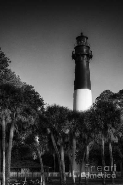 Photograph - Hunting Island Light 2 by David Waldrop