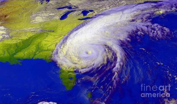 Wall Art - Photograph - Hurricane Floyd by NASA / Goddard Space Flight Center