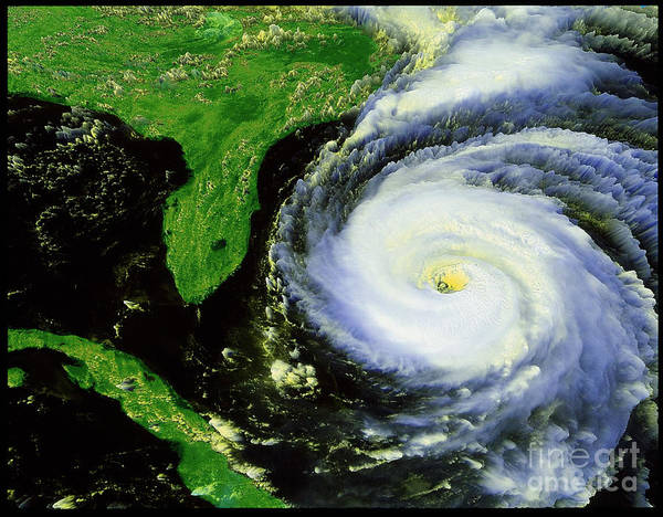 Wall Art - Photograph - Hurricane Fran by NASA / Science Source