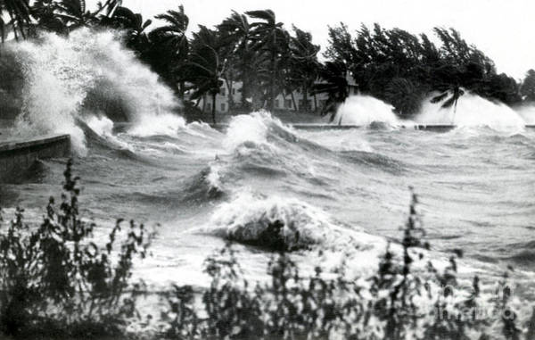 Photograph - Hurricane Waves by Science Source