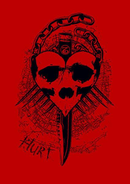 Mixed Media - Hurt by Tony Koehl
