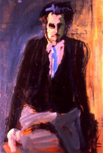 Painting - Huxley by Les Leffingwell