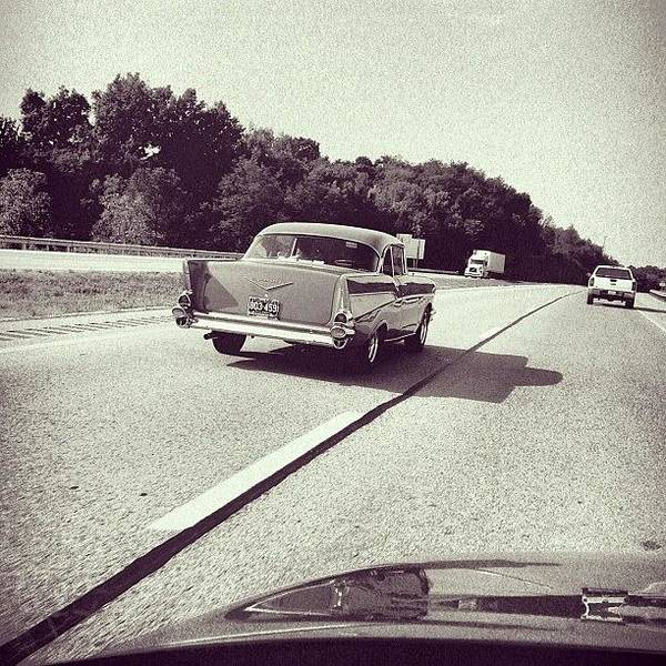 Travel Photograph - I <3 Vintage Cars! It's Great To See by Amber Flowers