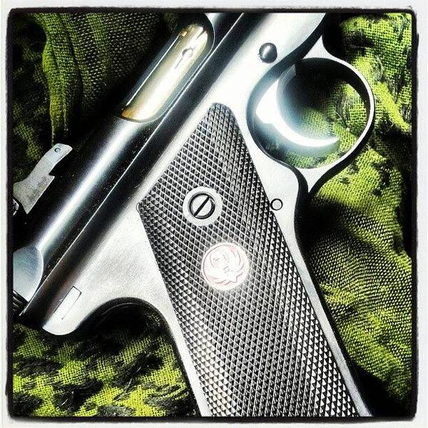 Guns Photograph - #i Don't #give #ruger #mkiii Enough by . .