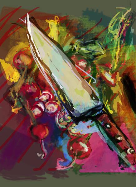 Cultivation Digital Art - I Felt A Radish And Its Props by James Thomas