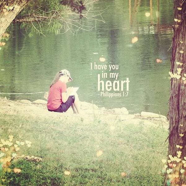 Wall Art - Photograph - ...i Have You In My Heart... by Traci Beeson