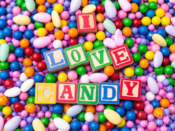 Photograph - I Love Candy by Edward Fielding