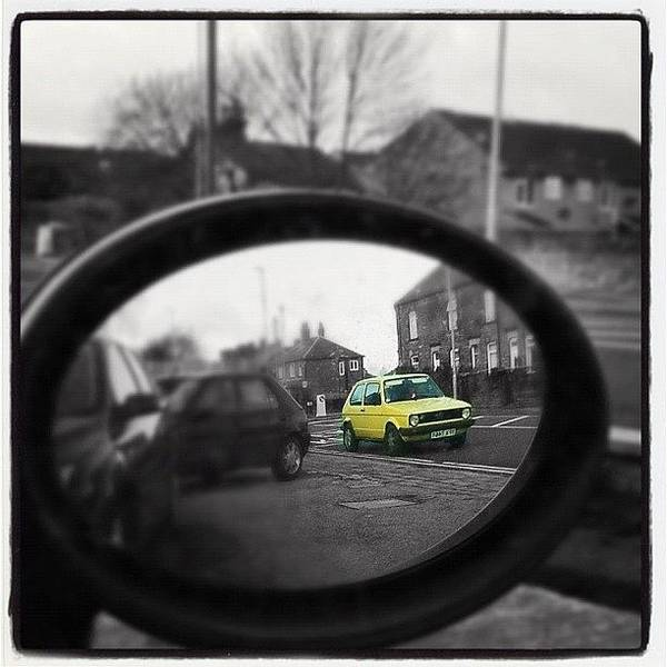 Volkswagen Photograph - I Spy In My Wing Mirrors Eye... #mk1 by Holly Peters