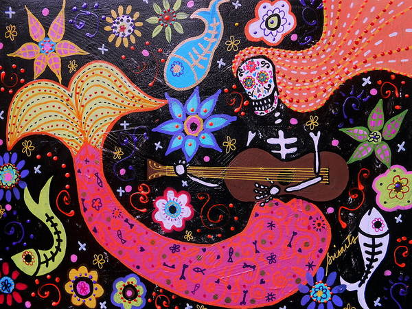 Harana Wall Art - Painting - I Will Sing To You A Lovesong by Pristine Cartera Turkus