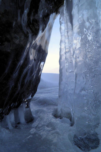 Photograph - Ice Cave Doorway by Sami Tiainen
