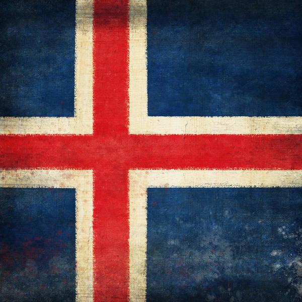 Duty Wall Art - Photograph - Iceland Flag by Setsiri Silapasuwanchai