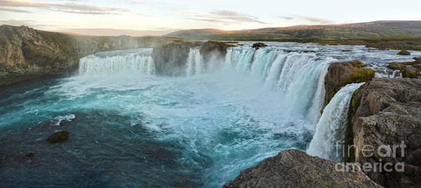 Photograph - Iceland Godafoss Waterfall - 05 by Gregory Dyer