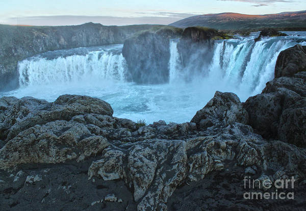 Photograph - Iceland Godafoss Waterfall - 06 by Gregory Dyer