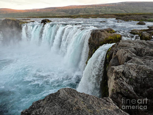 Photograph - Iceland Godafoss Waterfall - 09 by Gregory Dyer