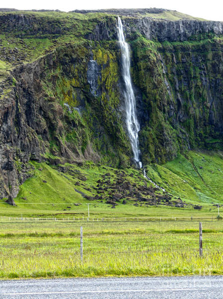 Photograph - Iceland Waterfall by Gregory Dyer