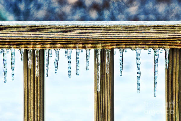 Icicles Wall Art - Photograph - Icicles by HD Connelly