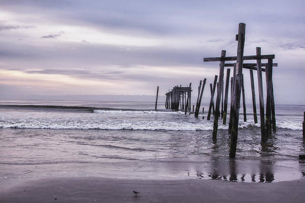 Photograph - Iconic Pier In Ocean City by Tom Singleton
