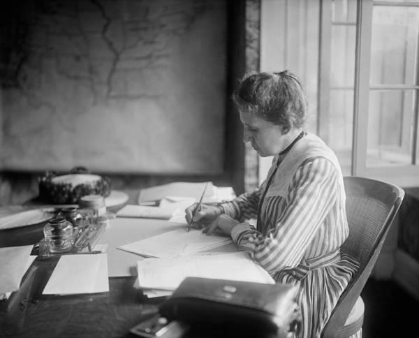 Monopoly Photograph - Ida M. Tarbell 1857-1944 by Everett