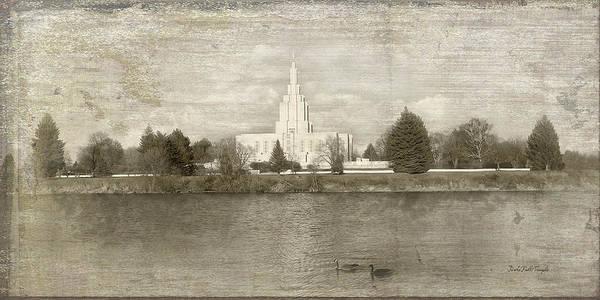 Idaho Falls Temple  Art Print