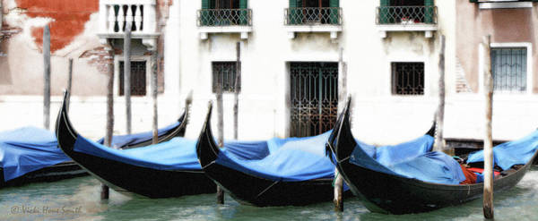 Photograph - Idle Gondolas by Vicki Hone Smith